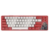 AJAZZ 黑爵 K680T 镖人定制版 有线/无线双模机械键盘 68键 奶油轴