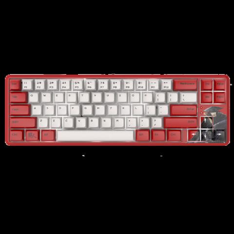 AJAZZ 黑爵 K680T 镖人定制版 有线/无线双模机械键盘
