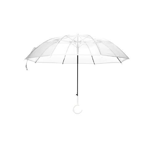 BANANA UNDER 蕉下 透彩系列 BU9087 8骨睛雨伞 透明色
