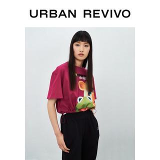 2021夏季新品女装青春棉T恤YV11R4MN2002