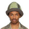 NICHOLAS DALEY 男士手工毛线帽 211363M140019