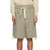 NICHOLAS DALEY 男士条纹短裤 211363M193012