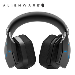 Alienware 外星人 AW988 头戴式双模游戏耳机 黑色