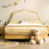 左右儿童床现代简约卧室1.5m儿童床女孩公主床小床单人床CHR009