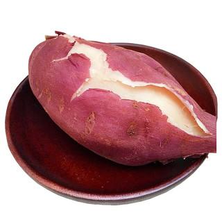 京东PLUS会员 : 静益乐源 商薯白心板栗红薯 2.5斤中大果