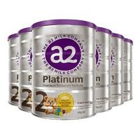 a2 艾尔 Platinum 白金版 婴幼儿奶粉 2段 900g*6罐装