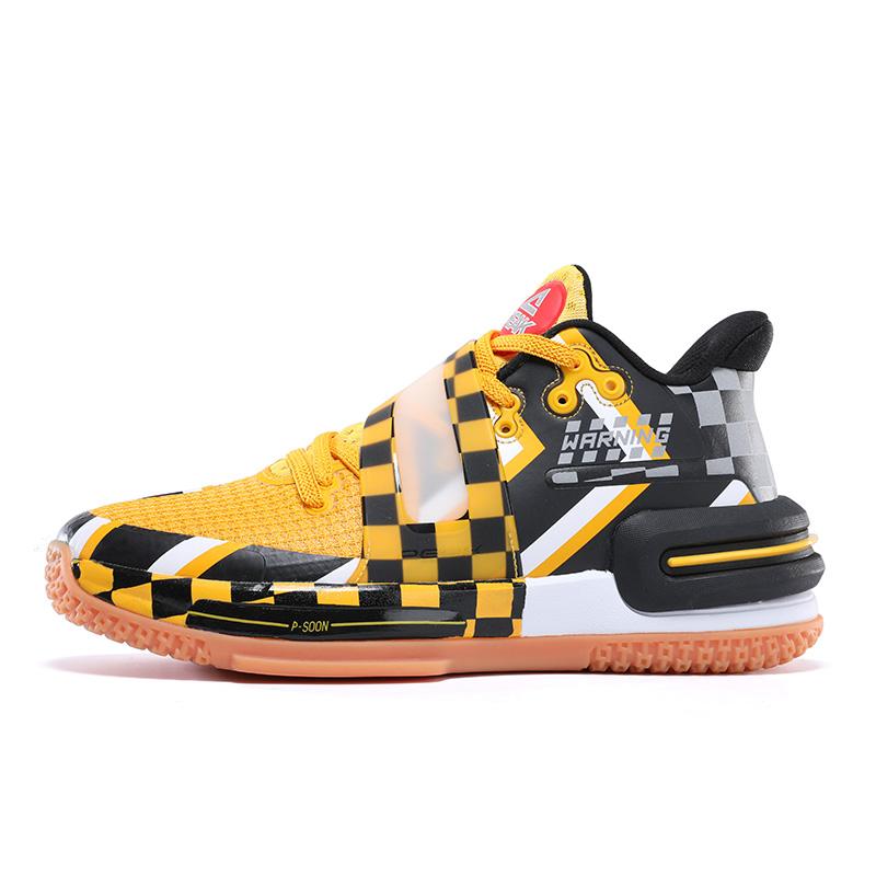 PEAK 匹克 态极闪现2代 E11793A 警告配色 男士篮球鞋