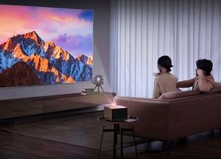 XGIMI 极米 RS Pro 2 晨曦金限定版 家庭影院投影机(4K、2200ANSI流明)