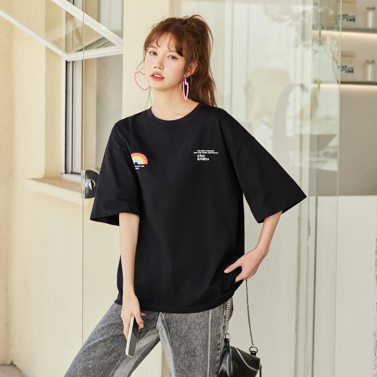 10B9421100624-9000 女士修身T恤