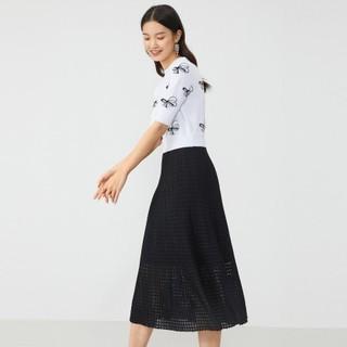YINER 音儿 蝴蝶系列 女士针织拼接连衣裙