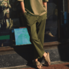 优衣库 434862 中性款弹力长裤