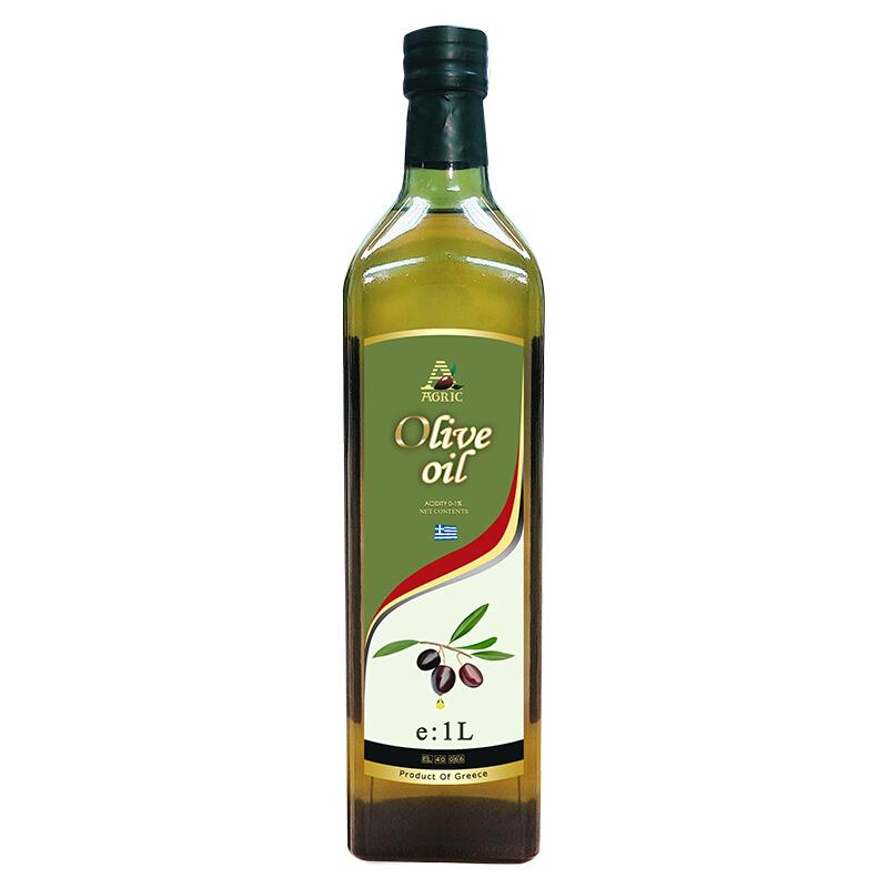 AGRIC 阿格利司 纯正橄榄油 1L