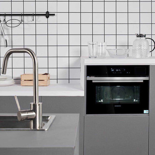 PLUS会员 : SIEMENS 西门子 CS289ABS0W 嵌入式 蒸烤箱一体机