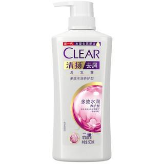 CLEAR 清扬 多效水润养护型去屑洗发露 500g