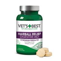 VET'S BEST Vet's Best 绿十字化毛猫草片1瓶