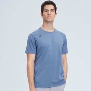 SEPTWOLVES 七匹狼 2021夏季新款男士运动休闲舒适干爽短袖圆领T恤