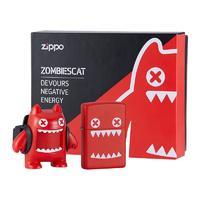 ZIPPO 之宝 IP联名 ZCBEC-138 打火机套装 魔鬼猫 红色