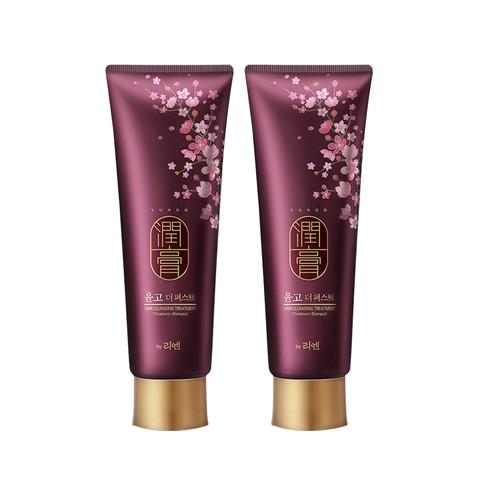 韩国进口LG睿嫣润膏洗发水250ml 2支装洗护护发正品洗发露洗头膏