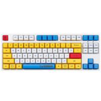iKBC RX-78-2 VER1.0 87键 2.4G无线机械键盘 高达 Cherry红轴 无光