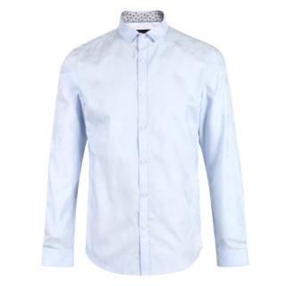 SELECTED 思莱德 419205516 男士纯棉修身长袖衬衫
