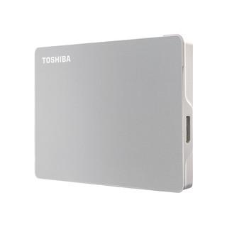 TOSHIBA 东芝 Flex系列 2.5英寸 USB移动机械硬盘 USB3.0