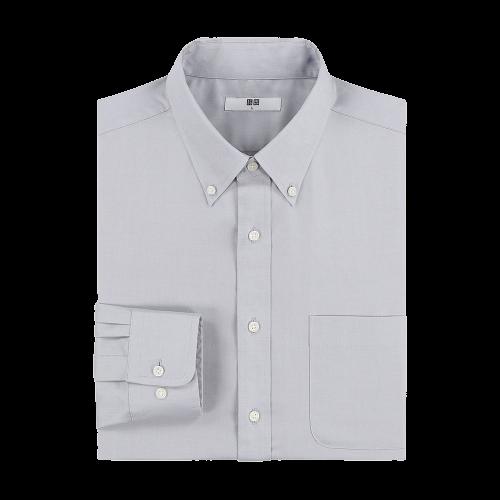 UNIQLO 优衣库 男士长袖衬衫 425044
