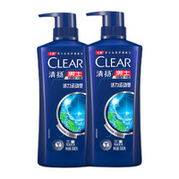 88VIP:CLEAR 清扬 活力运动型薄荷洗发水 500g*2+100g