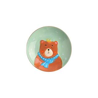 KAWASIMAYA 川岛屋 pz-220 陶瓷餐具 5件套 大熊