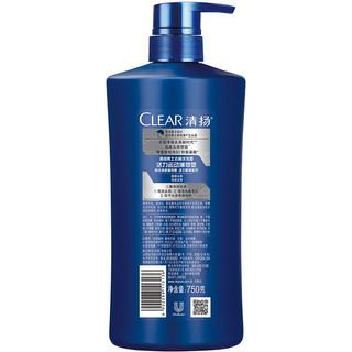 CLEAR 清扬 活力运动薄荷型男士去屑洗发露 750g