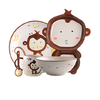 KAWASIMAYA 川岛屋 pz-220 陶瓷餐具 5件套 猴子