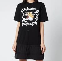 Waisted 女士T恤连衣裙