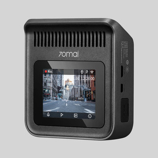 70迈 A400 行车记录仪 单镜头 无卡 深空灰