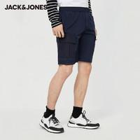 JACK JONES 杰克琼斯 220215512 男士运动工装短裤