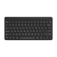 B.O.W 航世 K-610 79键 蓝牙无线薄膜键盘 黑色 无光