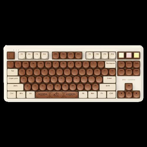 iKBC 歌帝梵联名 无线蓝牙双模机械键盘 青轴