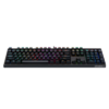 1st player 首席玩家 DK5.0 104键 有线机械键盘 黑色 高特黑轴 RGB
