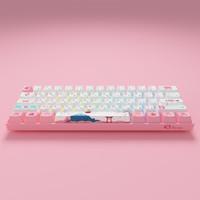 Akko 艾酷  3061 东京R2 有线键盘 樱花粉