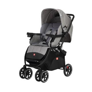 gb 好孩子 婴儿车高景观双向可坐可躺四轮避震儿童折叠轻便推车C400