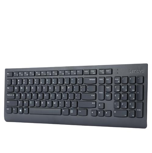 Lenovo 联想 SK8823 104键 有线薄膜键盘 黑色 无光