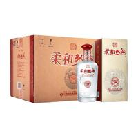 双沟 柔和 银 38%vol 浓香型白酒 450ml*6瓶 整箱装