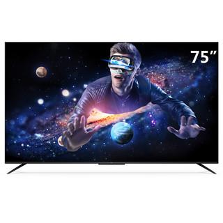 TCL 75T8E 液晶电视 75英寸 4K