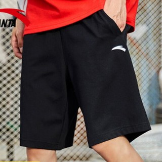 ANTA 安踏 【券后价75】安踏运动短裤2021春季新款轻薄针织透气短裤健身跑步休闲五分裤95027786