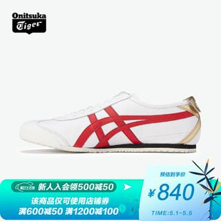 Onitsuka Tiger 鬼塚虎 Onitsuka Tiger鬼塚虎牛年限定男女同款休闲鞋经典MEXICO 661183B572 白色 39