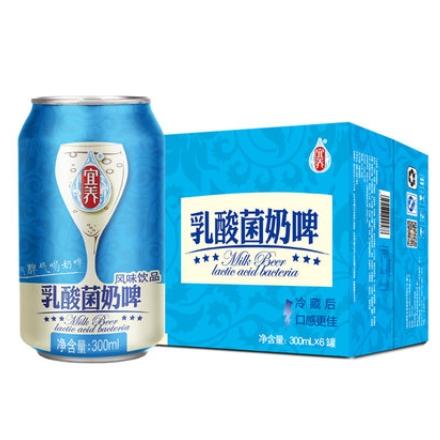 乳酸菌奶啤 300ml*6罐