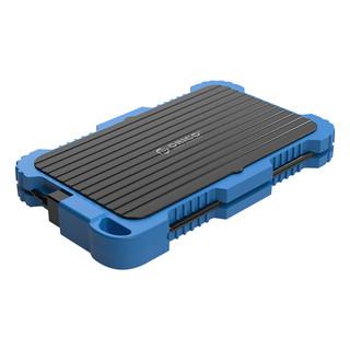 ORICO 奥睿科 2.5英寸SATA硬盘盒 USB 3.0 2779U3 迅捷蓝甲