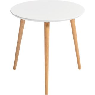 林氏木业 LS176L1-B 北欧简约客厅圆形茶几