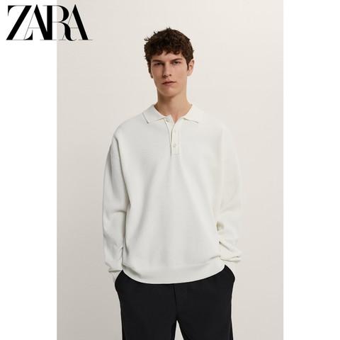 ZARA   03332403251 男装领针织衫毛衣