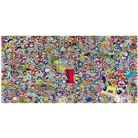 艺术品:ARTMORN 墨斗鱼艺术 村上隆《多啦A梦任意门》收藏级 版画 50*102cm 胶版冷印、高光泽清漆 1000版