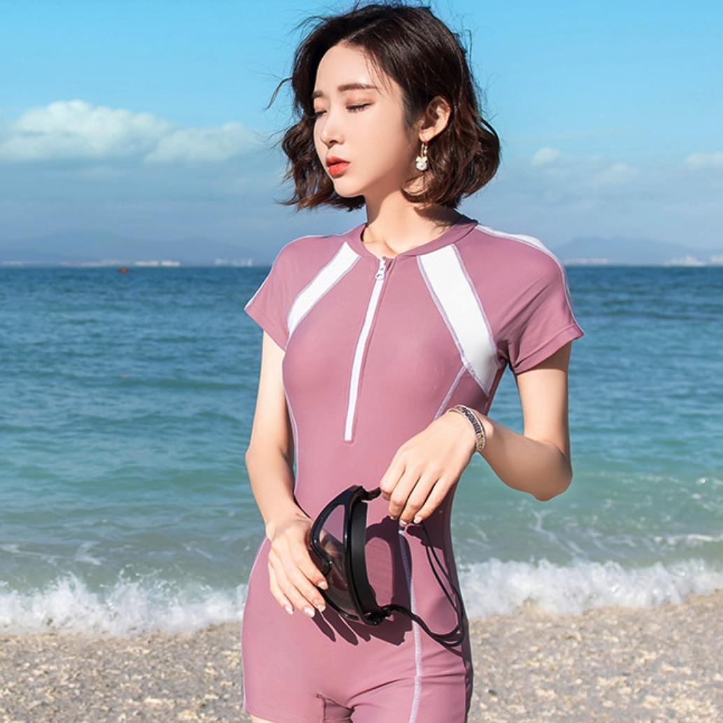 HAILIN HYSA1AQ024B80 女士连体平角泳衣