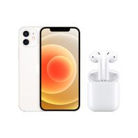 Apple 苹果 iPhone 12 5G智能手机 128GB + AirPods(二代)真无线蓝牙耳机 有线充电款